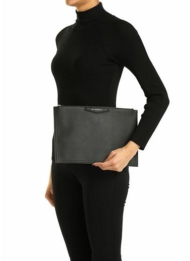 Givenchy Givenchy  Kadın Deri El Portföyü 101611434 Siyah